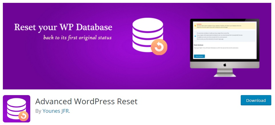 Advanced WordPress Reset Plugin