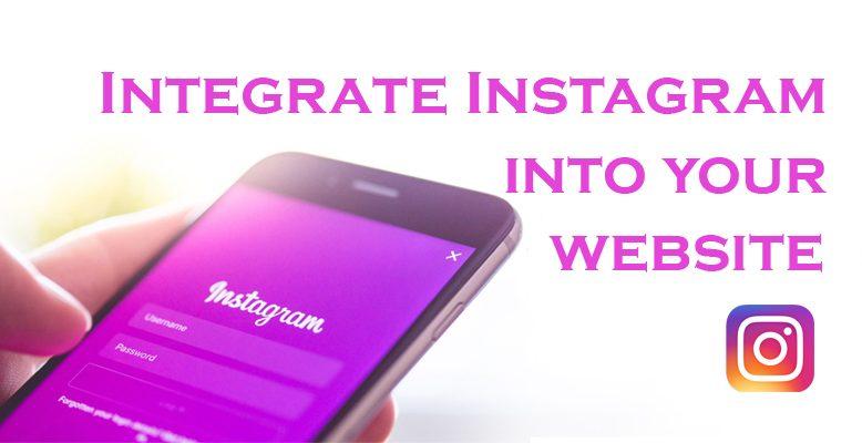 Integrate Instagram into your Web Design