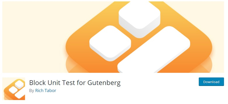 Block Unit Test for Gutenberg plugin