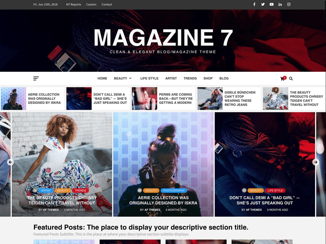 Magazine7. Image Source: WordPress.org