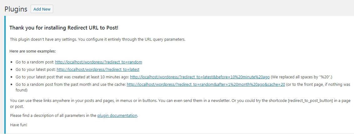 URL Query Parameters.