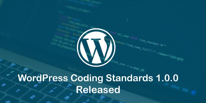wordpress coding standards 1.0.0 released