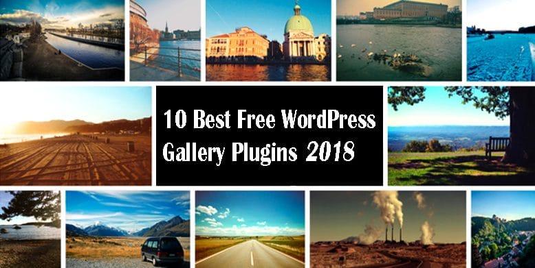 10 best free wordpress gallery plugins 2018