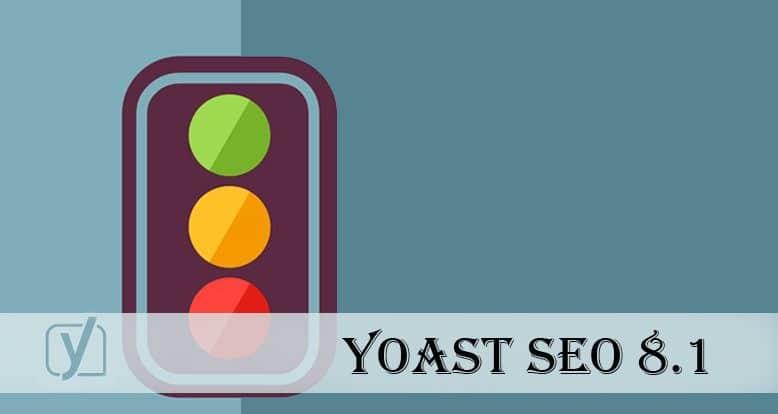 Yoast SEO 8.1