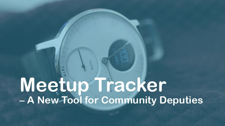 Meetup Tracker – A New Tool for Community Deputies