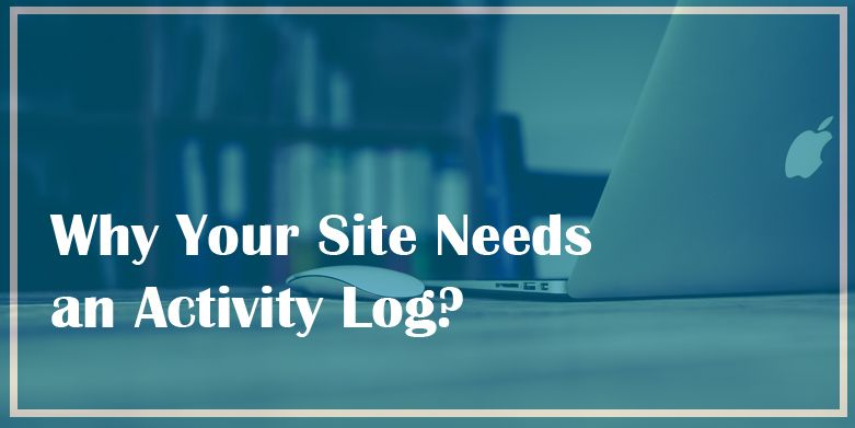 mplementing a WordPress activity log on your website has numerous benefits. And out of those numerous benefwhy your site needs an activity log