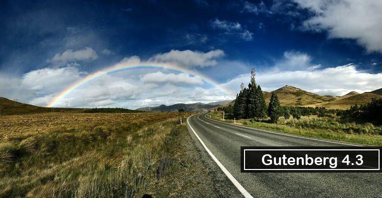 Gutenberg 4.3 Released