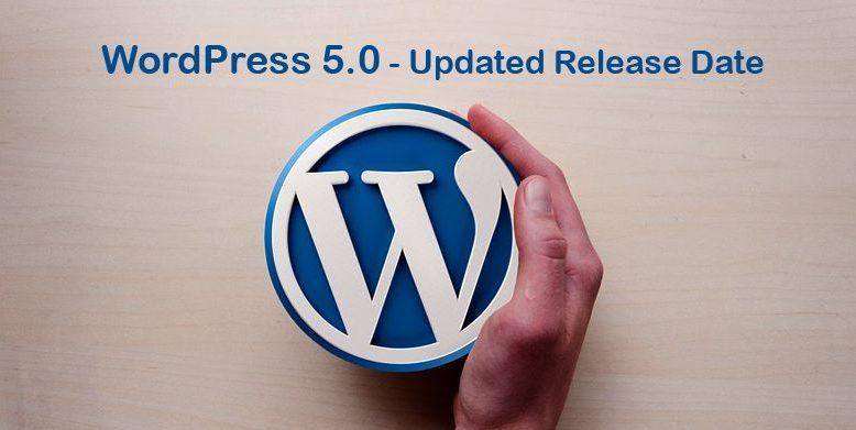 WordPress 5.0 Updated Release Date