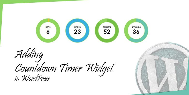 Adding a Countdown Timer Widget in WordPress