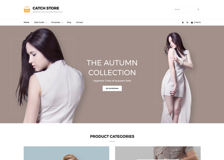 Catch Store. Image Source: Catch Themes