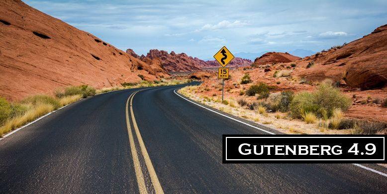Gutenberg 4.9 Released