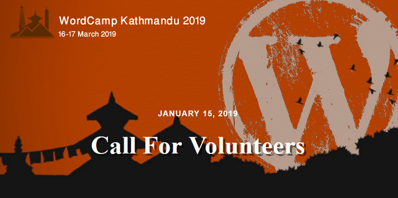 WordCamp Kathmandu 2019: Volunteer Registration Open