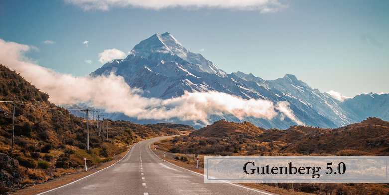 Gutenberg 5.0 Released