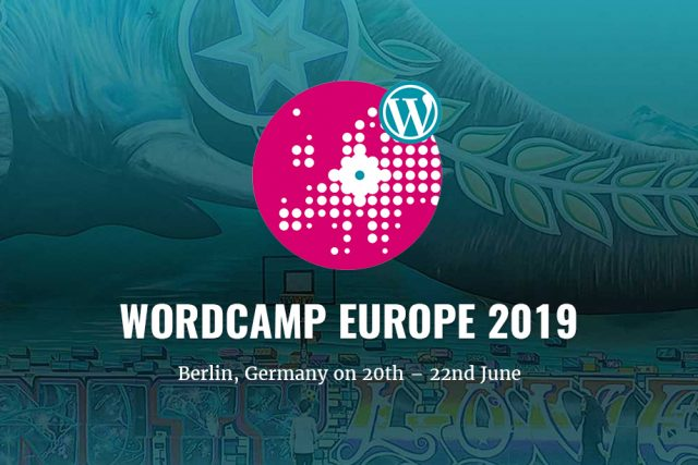 WordCamp Europe 2019 is on for the month of June
