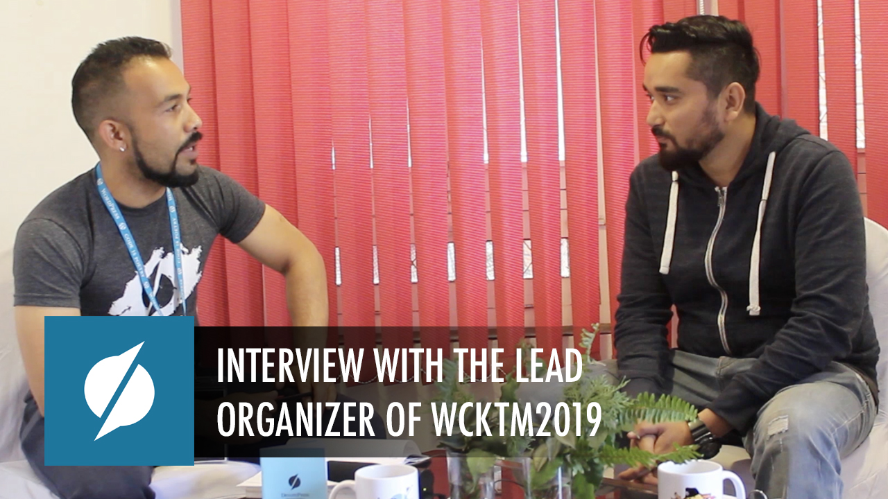 An Exclusive Interview with Utsav Singh Rathour - the lead organizer of WCKTM2019