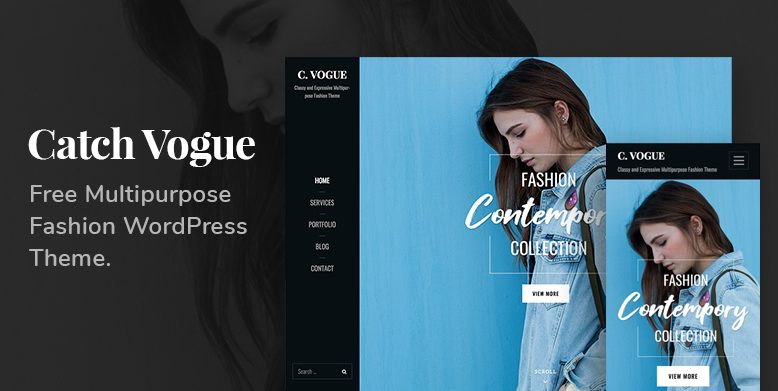 Catch Vogue - A multipurpse Fashion WordPress Theme