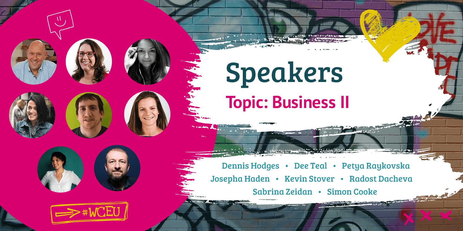 Confirmed Group of Speakers for Business II