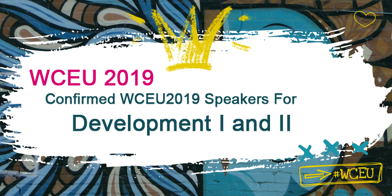 Confirmed WCEU2019 Speakers for Development I and II