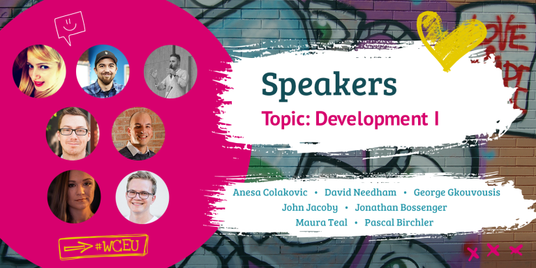 WCEU Speakers for Development I