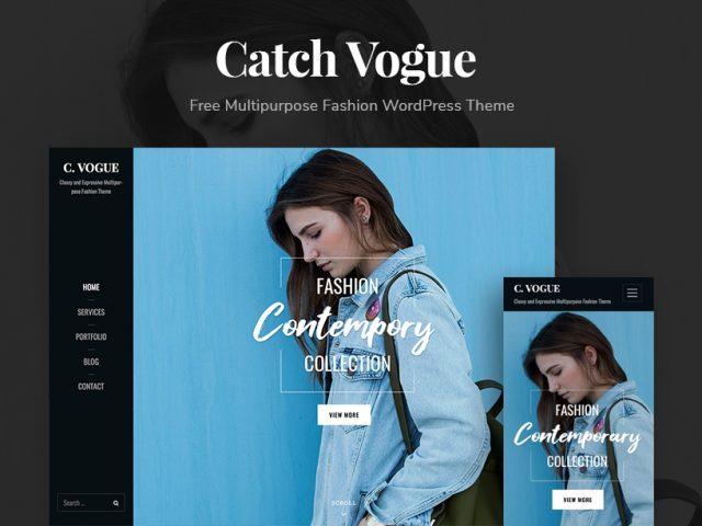 Love Fashion? You'll love Catch Vogue – A Multipurpose Fashion WordPress Theme