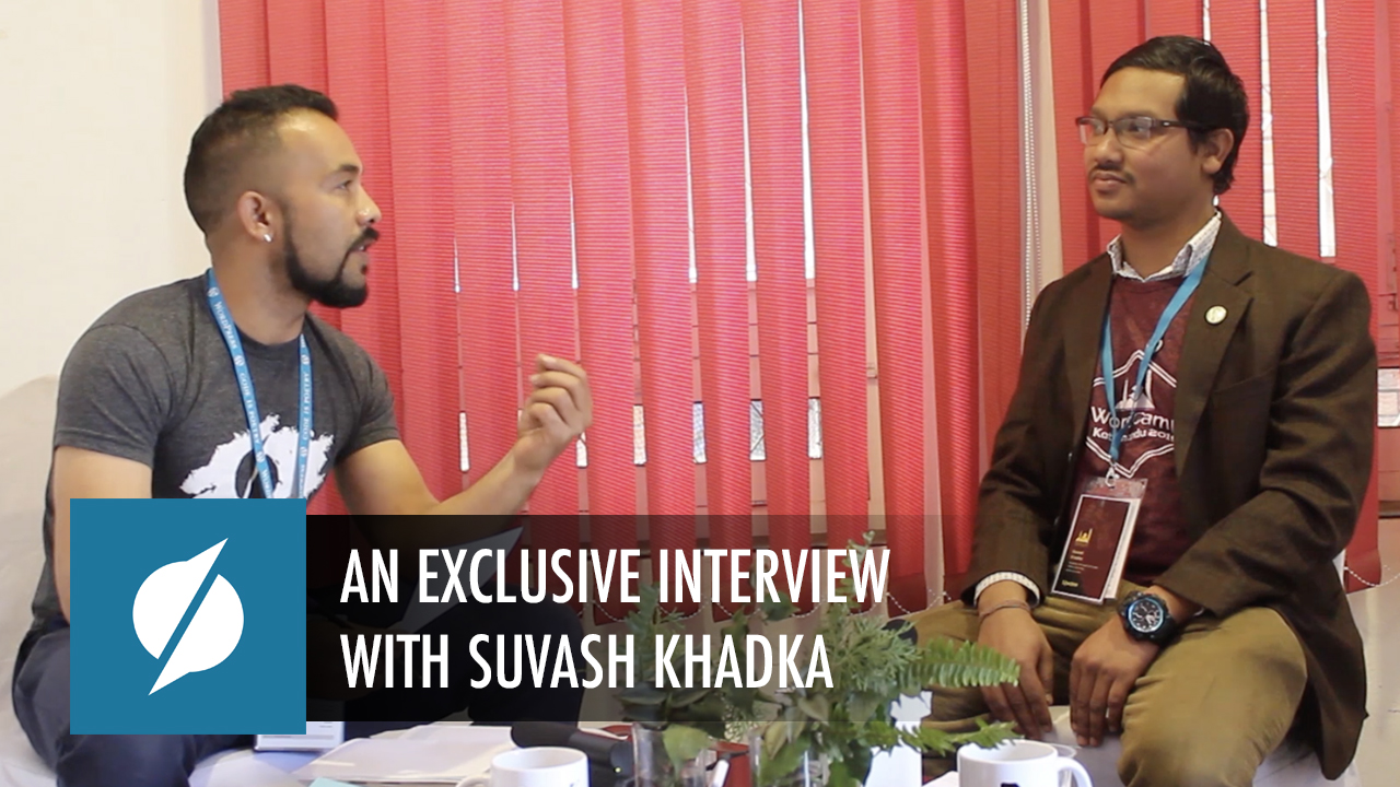 An Exclusive interview with Suvash Khadka