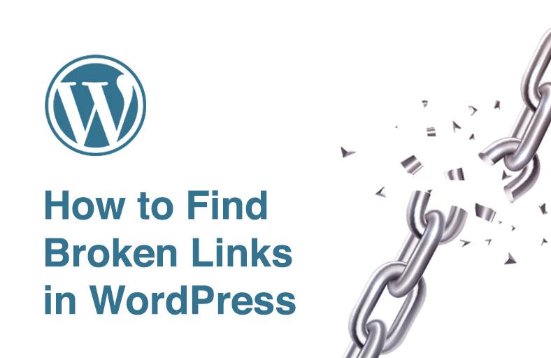 How to Find Broken Links in WordPress