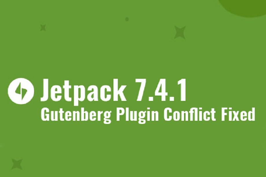 New Jetpack 7.4.1