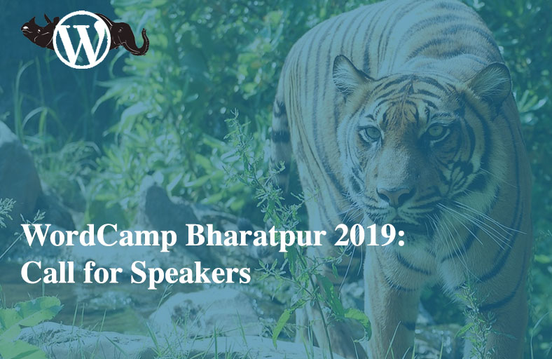 WordCamp Bharatpur 2019 - Call for Speakers