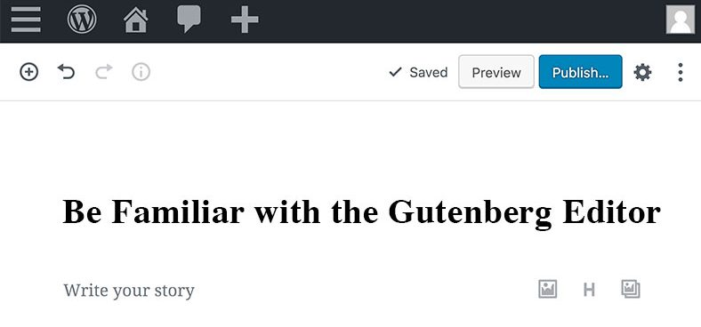 Be-familiar-with-the-gutenberg-editor