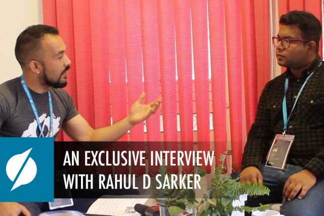 An Exclusive Interview with Rahul D Sarker – WCKTM2019