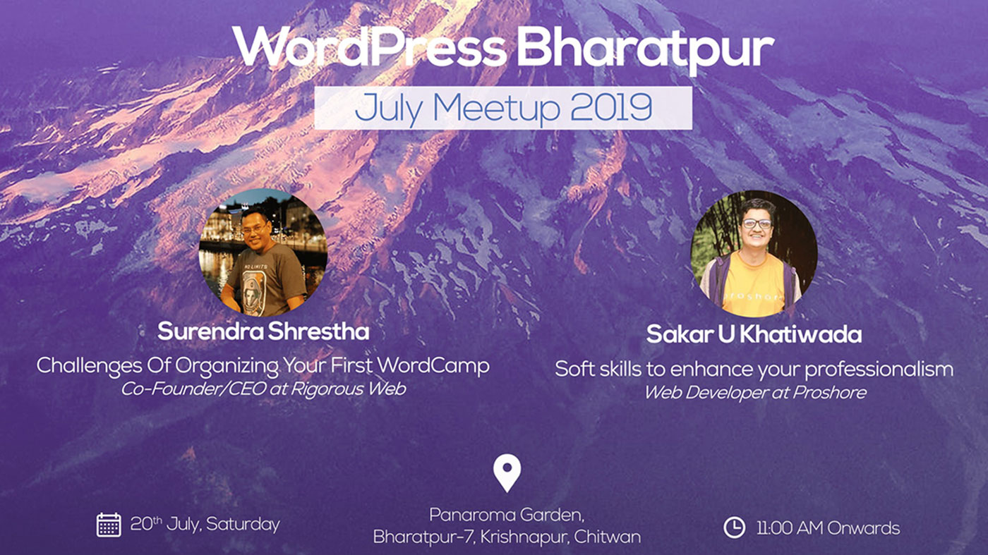 wordpress bharatpur july meetup 2019