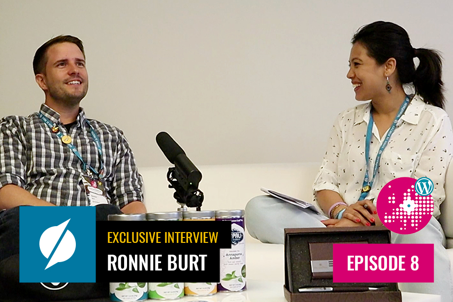 Ronnie Burt Interview at WordCamp Europe 2019