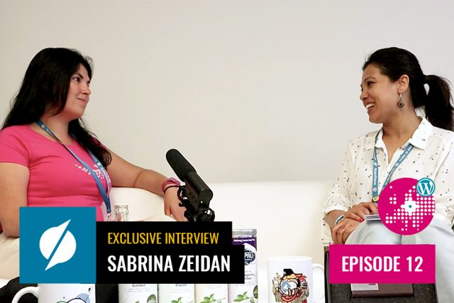 An Exclusive Interview with Sabrina Zeidan at WordCamp Europe 2019