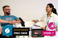 An Exclusive Interview with Tomaž Zaman at WordCamp Europe 2019