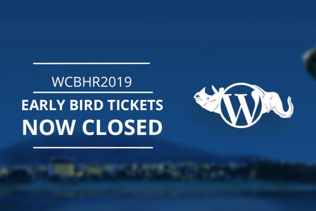 WordCamp Bharatpur 2019 Early Bird Tickets Now Closed