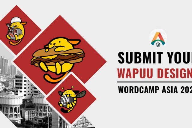 Are you a Designer or an Illustrator? Submit your Wapuu Designs for WCASIA2020!