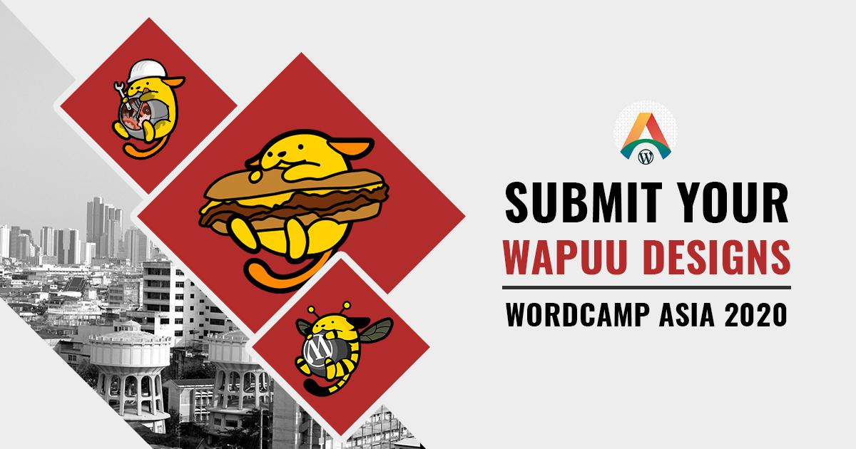 Call for Wapuu Designs WCASIA2020