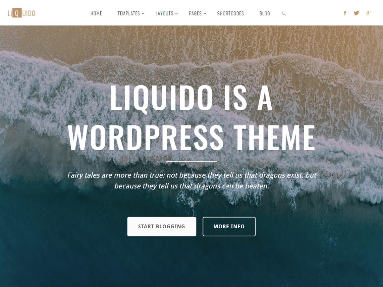 liquido free theme