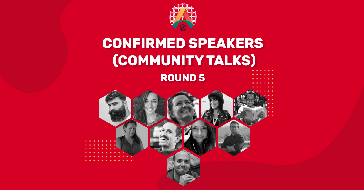 WCASIA2020 Confirmed Speakers – Round Five (Community Talks)