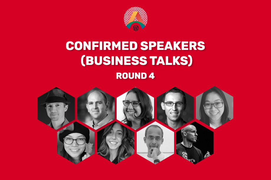 WCASIA2020 Confirmed Speakers - Round Four (Business Talks)
