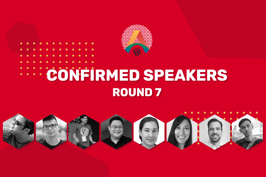 WCASIA2020 Confirmed Speakers - Round Seven