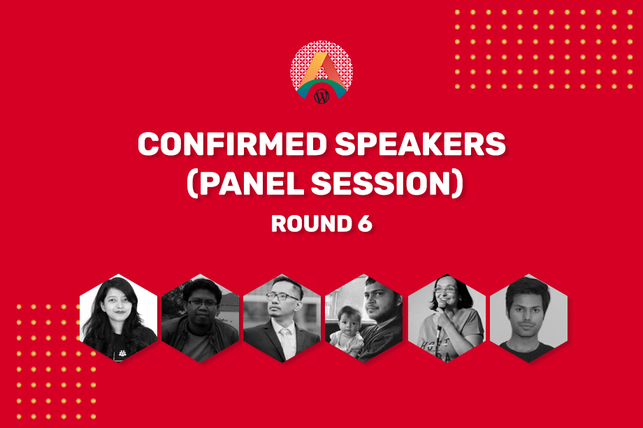 WCASIA2020 Confirmed Speakers - Round Six