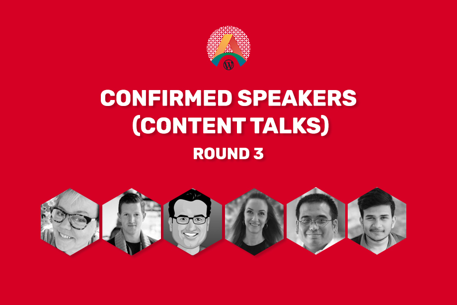 WCASIA2020 Confirmed Speakers - Round three