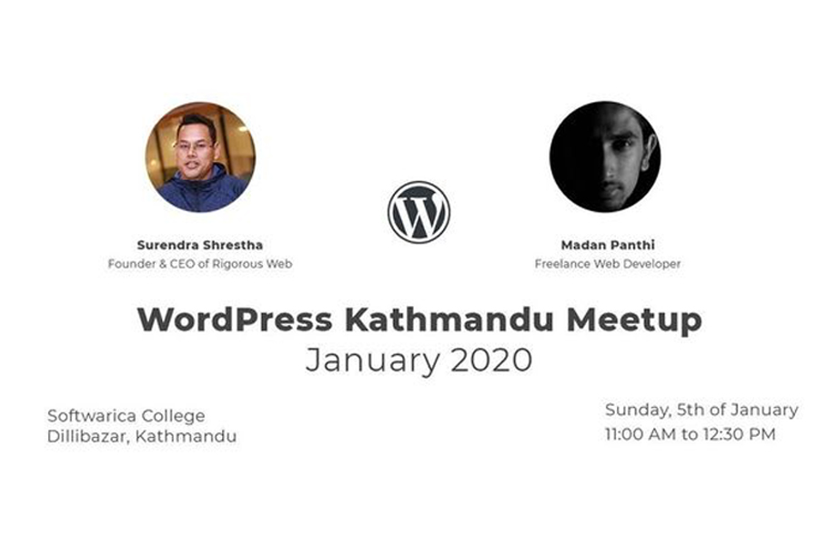 WordPress Kathmandu January Meetup 2020