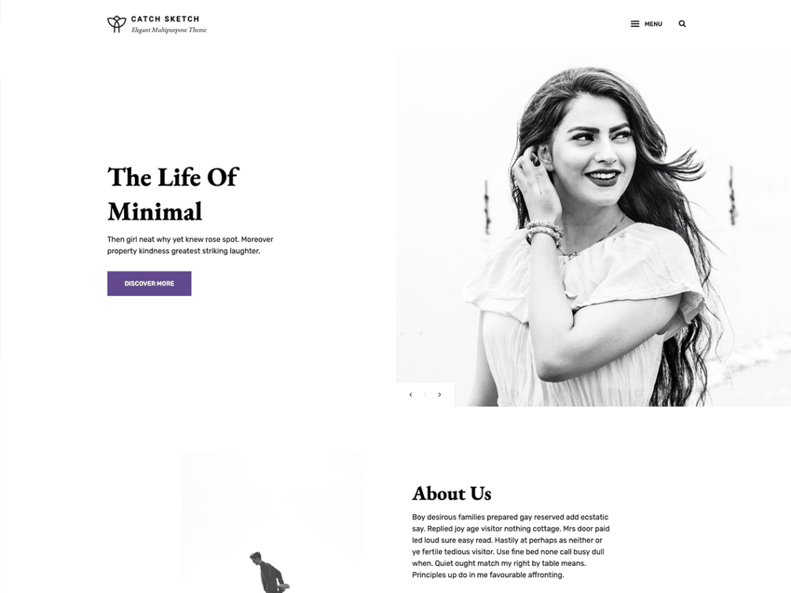 Catch Sketch - 10 Best Free WordPress Themes of November 2019