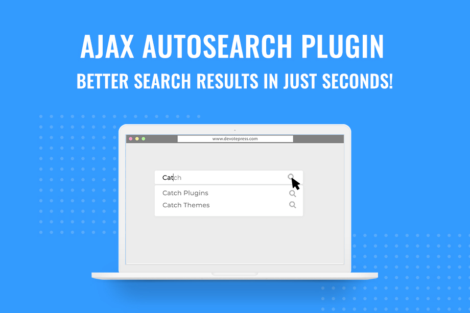 Ajax AutoSearch Plugin for better search results