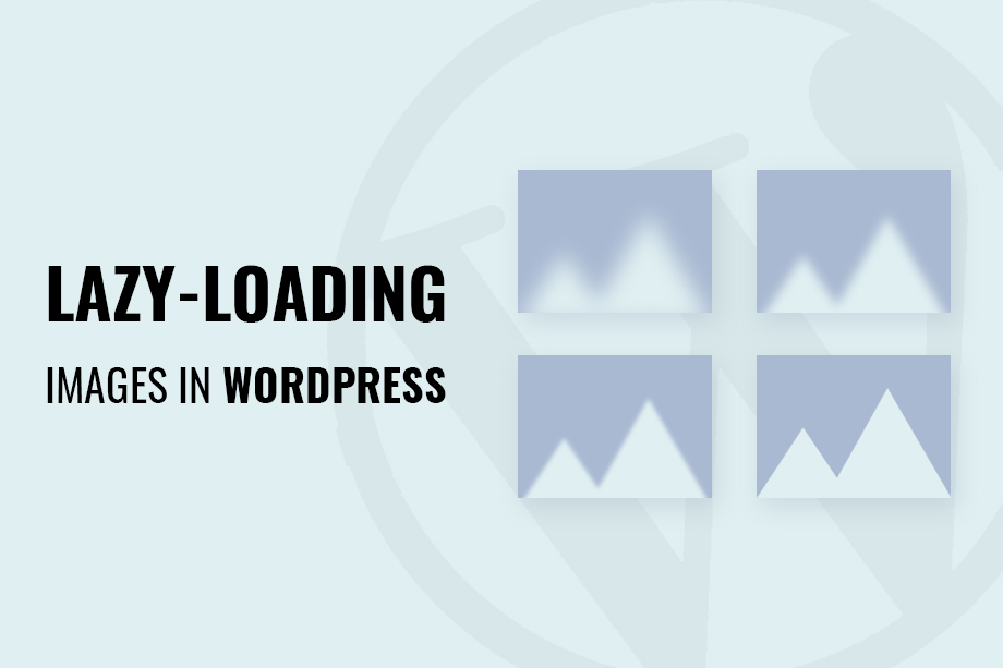 Lazy-loading images in WordPress