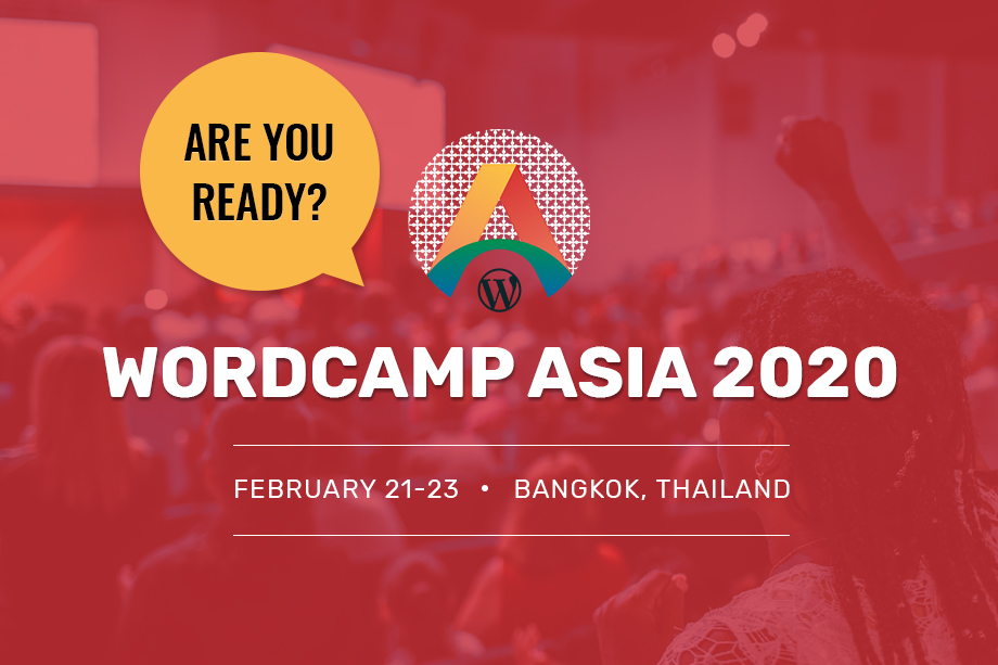 WordCamp Asia 2020 - Gear up for it
