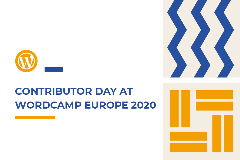 Be a part of the Contributor Day at WordCamp Europe 2020