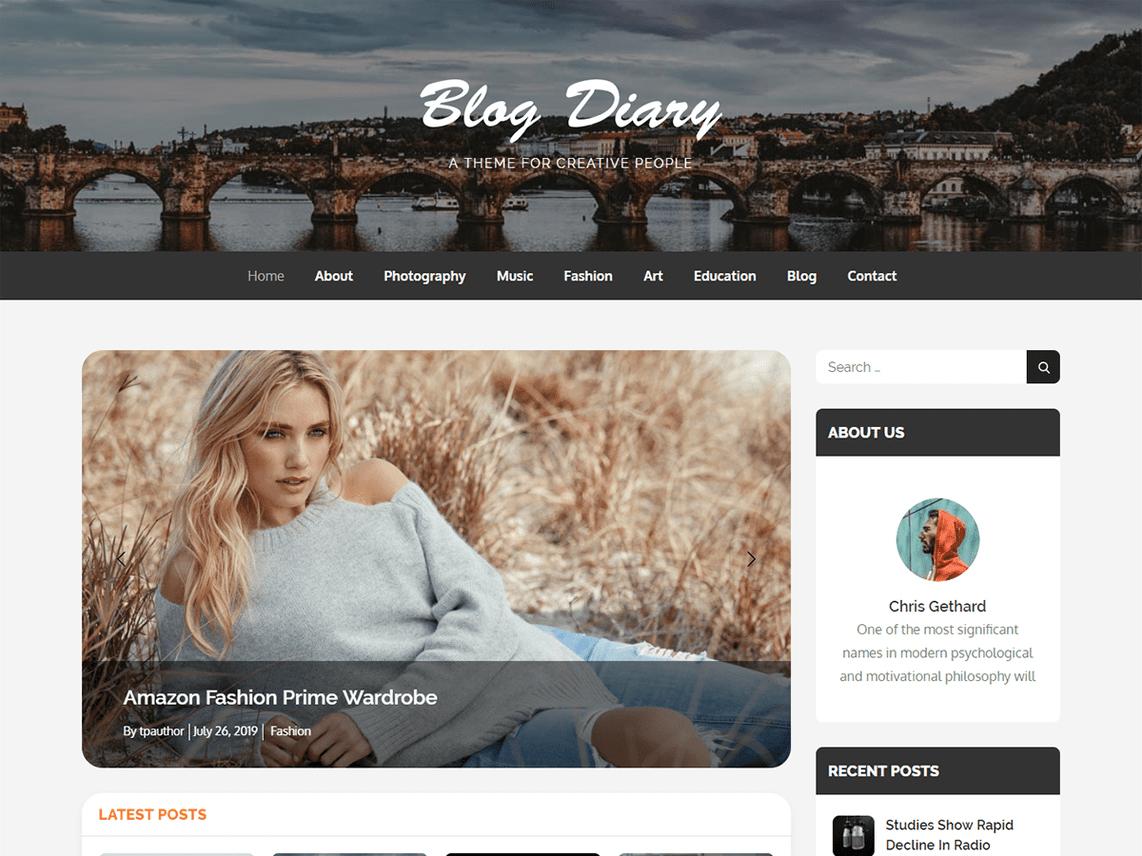 10 Best Free WordPress themes of December 2019 - blog diary